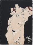 186603. 1997. Peinture huile sur papier. 90x60cm