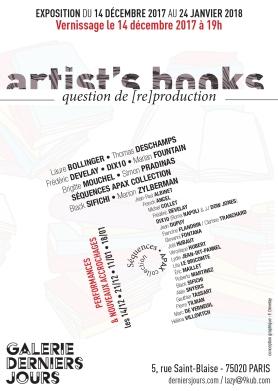 Artist's books flyer a6